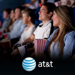 AT&T Thanks Ticket Twosdays: 2-for-1 Movie Tickets