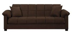 Taylor Pillow-Top Microfiber Convert-a-Couch $365