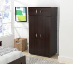 Inval 4-Door Wardrobe/Armoire $146