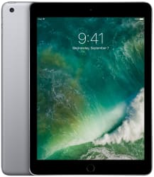 "5th-Gen Apple iPad 9.7"" 32GB WiFi Tablet for $270"