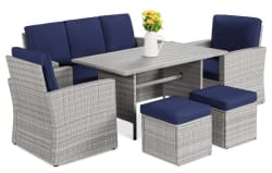 Best Choice Products 7-Seat Patio Furniture Set for $650 + free shipping
