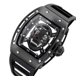Skone Unisex Skeleton Watch for $17