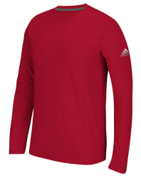 adidas Men's Long Sleeve Ultimate T-Shirt for $13