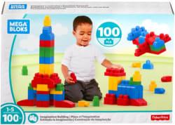 Mega Bloks 100pc Imagination Building Sets for $10