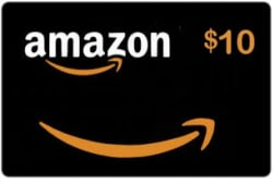 $10 Amazon Credit free w/ $100 GC reload