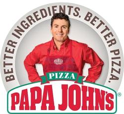 Papa John's Large Pizza free w/ pizza purchase