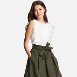 Uniqlo Women's Drape Sleeveless Blouse for $15