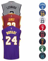 adidas Men's NBA Replica Player Jersey for $32