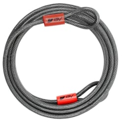 30-Foot Security Double Looped Flex Cable for $19