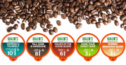 48 Maud's Coffee K-Cup Pods for $16