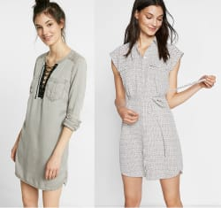 Express Women's Dresses: 40% off + 20% off
