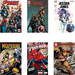 Marvel Digital Comics & Novels for Kindle for free