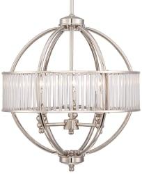 "Possini Euro Design Florien 18"" Chandelier $200"