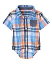 Gymboree Baby Boys' Plaid Bodysuit for $11