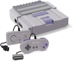 Hyperkin SNES/NES RetroN 2 Gaming Console for $33