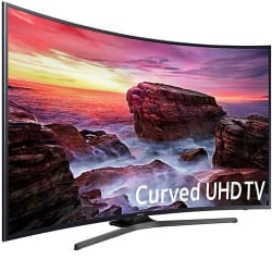 """Samsung 55"""" 4K Curved HDR UHD LCD Smart TV $510"""