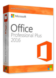 Microsoft Office Professional Plus 2016 PC for $25