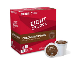 180 Keurig Eight O'Clock Coffee K-Cups for $56