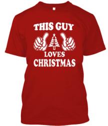 Unisex Christmas Slogan Humor T-Shirt for $12