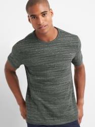 Gap Men's Softspun Crewneck T-Shirt for $8