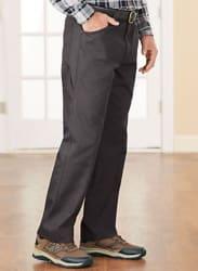 Duke Men's Side-Elastic Carpenter Pants for $15