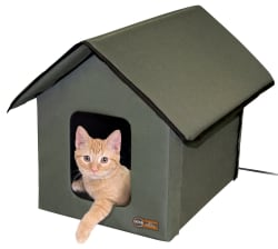K&H Heated Outdoor Kitty House for $37