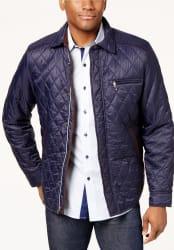 Tasso Elba Men's Quilted Jacket for $34
