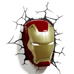 3D Light FX Marvel Iron Man Mask Wall Light $15