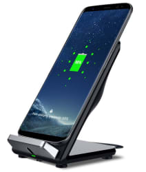 Qi Wireless Fast Charging Smartphone Stand for $13