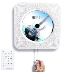 Tocode Wall Mountable Bluetooth CD Player $46