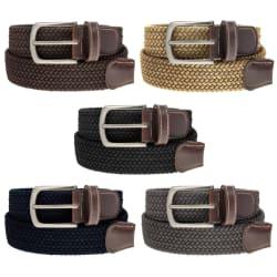 DG Hill Men's Braided Belt for $5