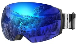 OutdoorMaster Unisex Pro Ski Goggles for $22