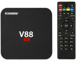 Scishion V88 4K Smart Android TV Box for $20