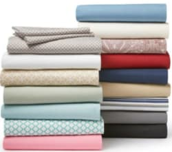 Home Expressions Twin Microfiber Sheet Set for $5