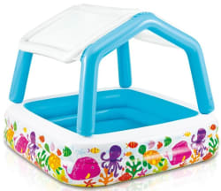 Inflatable Pool Slide Intex intex kool splash inflatable water slide for $75 + free shipping