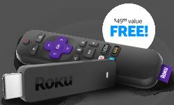 Roku Streaming Stick: free w/ $35 1-mo. DirecTV