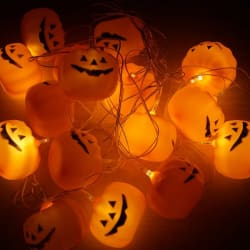 Halloween 16-Piece LED String Lights for $5