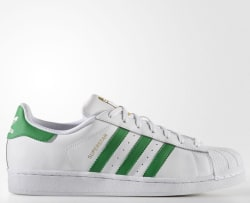 adidas Men's Superstar Shoes for $40