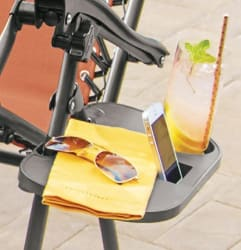Zero Gravity Chair Clip-on Table for $13