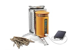 The BioLite Campstove Charges Your Phone While Heating Your Food