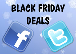 Black Friday, Twitter & Facebook: Ads and Promotions, But No Sales