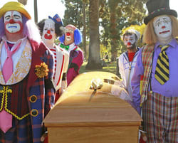 VIDEO: Clowns Are Dying and It's No Laughing Matter