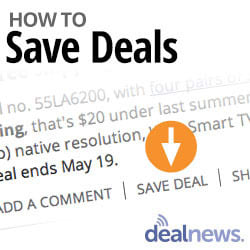 DealTip: How to Save Deals for Later