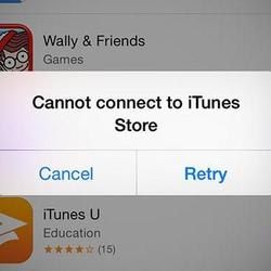 UPDATE: It's Not Just You: Apple App Store and iTunes Are Down Worldwide