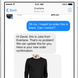 Facebook Wants You to Talk to Stores Through Its Messenger App
