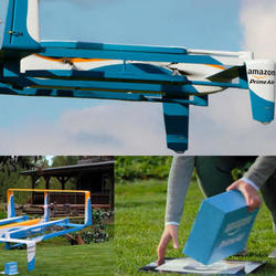 Amazon Gives Us a Peek at Actual Delivery Drones in This New Video