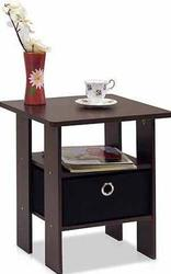 Furinno End Table w/ Bin Drawer for $9