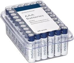 Insignia AAA or AA Batteries 48-Pack for $7