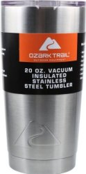 Ozark Trail 20-oz. Stainless Steel Tumbler for $8