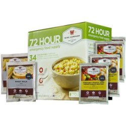 Wise Company 72-Hour Emergency Food Supply for $34